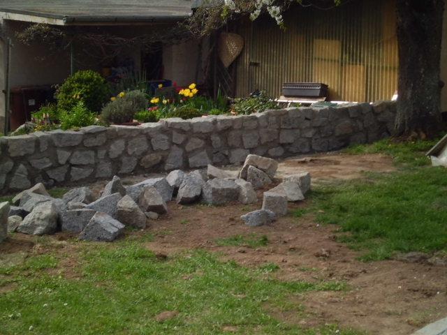 Berühmt MN Gartenbau - Natursteinmauer &FH_08